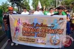 Gerak Jalan Sadar Pemilu Dongkrak Partisipasi Pemilih
