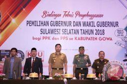 KPU Gowa Gelar Bimtek Untuk PPK-PPS