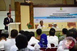 Pembangunan Fisik Bendungan Pamukkulu Peroleh Rp1,7 Triliun