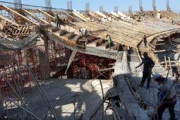 Polda Sulsel Selidiki Penyebab Stadion Barombong Roboh