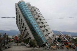 67 orang hilang setelah  gempa Taiwan