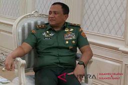 Asintel Panglima TNI terkesan dengan masyarakat Sulsel