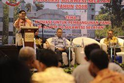 Penjabat Gubernur Sulsel dorong peneliti berinovasi