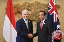 Presiden Jokowi-PM Turnbull bicara soal Rakhine hingga Marawi