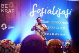 Bekraf sosialisasikan Food Startup Indonesia di Makassar