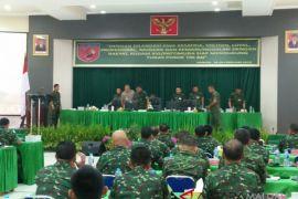 Kodam XVI/Pattimura rapim di Ambon