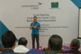 Garuda commissions new cargo service center in Makassar