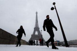 Menara Eiffel ditutup saat final Piala Dunia 2018