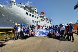BUMN Hadir - Peserta SMN kunjungi PT IKI Makassar