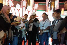 BUMN Hadir - Peserta SMN nikmati wahana Theme Park Makassar