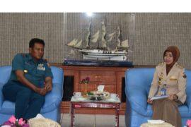 Lantamal VI dukung program bersih pantai KKP