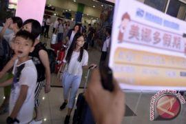 Sebanyak 71,3 juta turis China plesiran ke luar negeri