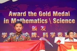 Indonesia torehkan prestasi di Olimpiade Matematika China