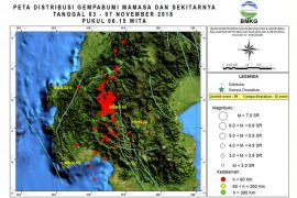Gempa 4.0 Skala Richter kembali guncang Mamasa