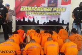 Polrestabes Makassar amankan 20 pelaku begal