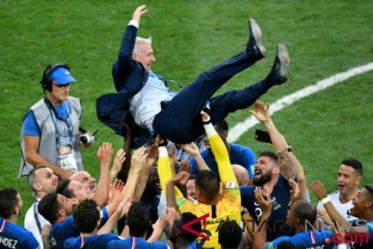 Deschamps: Prancis juara karena kekuatan mental