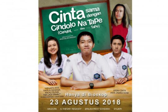 Film Cindolo Na Tape tayang Agustus 2018