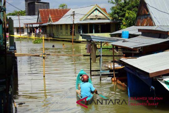BPBD Wajo : Luapan Danau Tempe mulai surut
