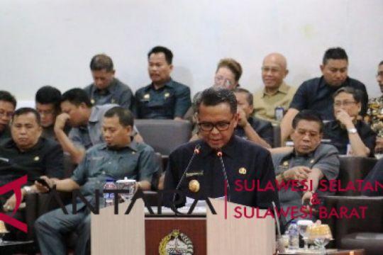 Nurdin Abdullah tanggapi pandangan fraksi DPRD Sulsel