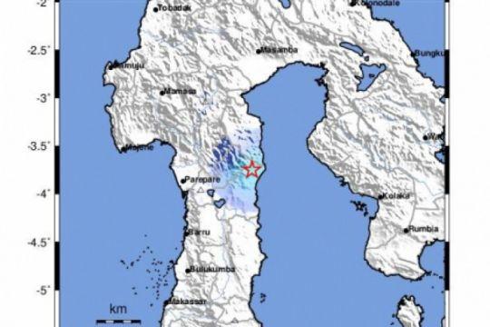Wajo diguncang gempa tektonik magnitudo 4,2
