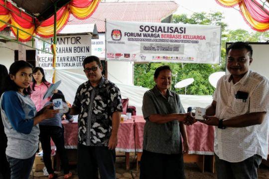 KPU Torut dekati pemilih melalui forum warga