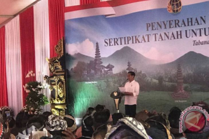 Presiden akui banyak tempat ibadah sengketa lahan
