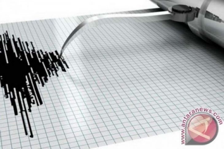 Gorontalo diguncang gempa tektonik 5,5 SR