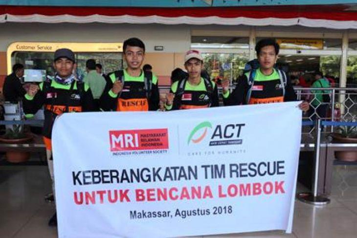Sulsel kirim 70 ton logistik ke Lombok
