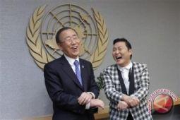 Saat Sekjen PBB berjumpa si '
