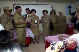 8.008 Siswa SMP  Manado Ikut UN