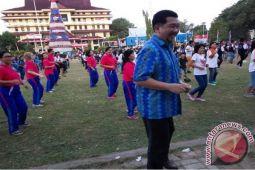 1.200 Orang Manado Ikut Tarian Poco-poco