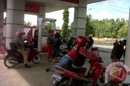 Arus Mudik - SPBU jamin pasokan bbm di Minahasa Tenggara