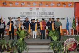 KPU Minahasa Tenggara Luncurkan Maskot Pilkada