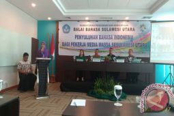 Kemendikbud Dorong Penggunaan Bahasa Indonesia Ruang Publik