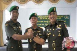 Letkol Arif Harianto jabat Dandim Manado