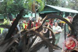 Tarian Cakalele warnai penyambutan pelepasan Dandim Manado