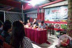 Tak Didampingi Staf, Wakil Ketua DPRD Manado, Jaring Aspirasi di Bahu
