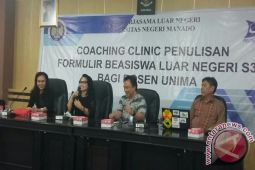 Coaching Clinic Studi Luar Negeri Mahasiswa-Dosen Unima