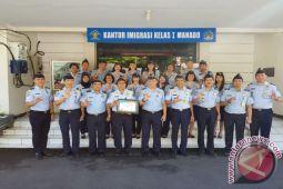 Imigrasi Manado raih penghargaan kinerja pelaksanaan anggaran terbaik