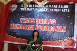 Bupati ajak jemaat proaktif tunjang program pembangunan