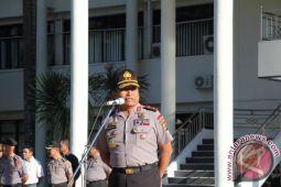 Kapolda Sulut Sertijab dua pejabat utama