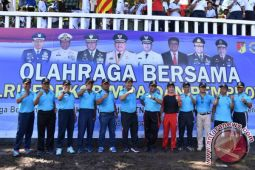 TNI Polri - ASN Sulut gelar Olahraga bersama