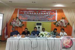 Kpu Minahasa Tenggara Sosialisasikan Perpanjangan Pendaftaran Calon