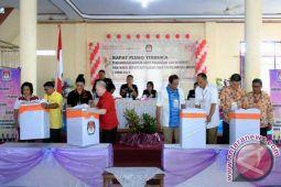 KPU Sitaro Laksanakan Pencabutan Nomor Urut Calon