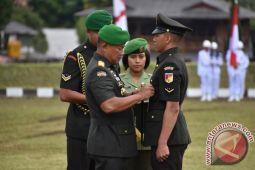 Pangdam lantik 123 Prajurit Bintara TNI AD