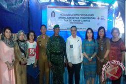 BNN-PMI Manado penyuluhan pencegahan Narkotika kepada masyarakat