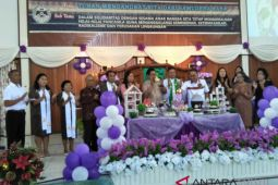 ROR hadiri perayaan HUT GMIM Immanuel Passo ke-181
