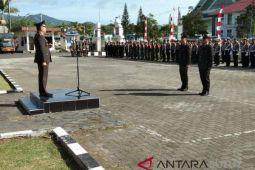 Polres Minahasa sukses gelar upacara peringati HUT Bhayangkara ke-72