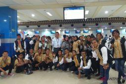 BUMN HADIR - Peserta SMN NTT kembali ke Kupang