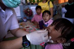 95 Persen anak di Sangihe diimunisasi campak/rubbela